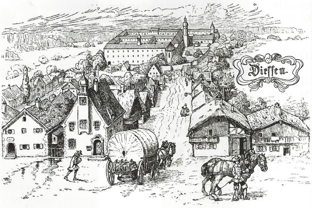 Diessen_im_16_ Jahrhundert